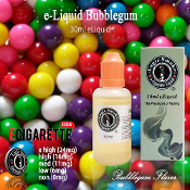 30ml Bubblegum e Cigarette Liquid