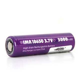 Efest IMR 18650 3000mah 3.7V battery flat top mod battery