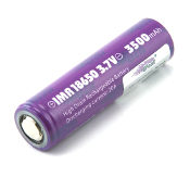 Efest IMR 18650 3500mah 3.7V battery flat top mod battery