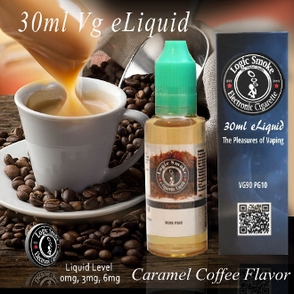 30ml Vg e Liquid Caramel Coffee Flavor