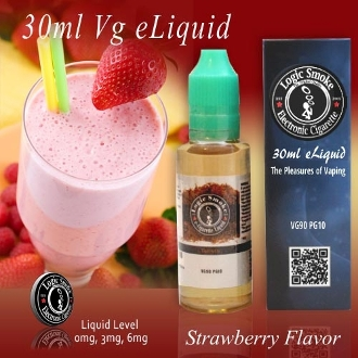30ml Vg e Liquid Strawberry Flavor