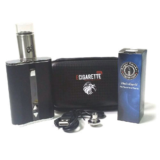 ECU 60 Watt and Turbo RDA Atomizer MOD Kit