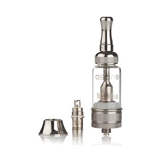 Aspire Nautilus Tank Clearomizer Nautilus by Aspire is a classically beautiful stainless steel, eGo 510 threaded clearomizer. Fast Free Shipping with min. purchase on all US orders