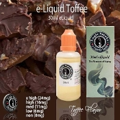 eLiquid 30ml English Toffee Flavor