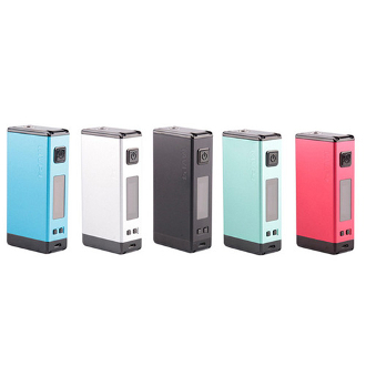 100 watt powerhouse is a sturdy box mod that has an impressive 4500mAh which can last days between charges depending on the users wattage output preference.