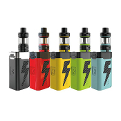 Kanger FIVE6 222W TC kit The Kanger Five6 is a kit consistent of a five battery power house of a mod and tank that has a 3 coil build. It has a huge liquid reservoir of 8mls and utilizes stainless steel tiger coils.