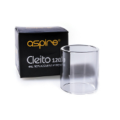 Aspire Cleito 120 4ml Replacement Glass Never again worry about breaking your Aspire Cleito 120 4ml clearomizer, now you can just buy the replacement glass and away you go!