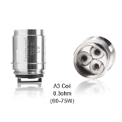 Aspire Athos Replacement Coils Aspire Athos Replacement Coils were made specifically for the Aspire Athos sub ohm tank. These Coils come in two types: The Penta 0.16 Ohm Coil and the Triple 0.3 Ohm Coil.