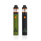 The AMVS kit is a vape pen style kit featuring the Crios Tank with a 3000mAh passthru battery. The battery is designed to have a constantly fixed wattage output and give you a perfect hit each time.