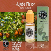 10ml Jujube Flavor eCig Liquid