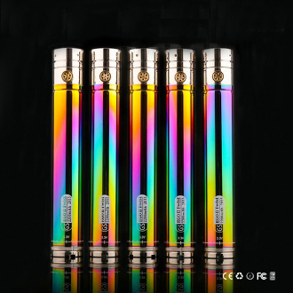 GS eGo II 2200mAh Twist Rainbow Battery