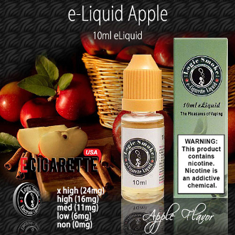 Apple ecig liquid embodies a crisp sweet flavor with merely a touch of tartness ecig liquid is well-liked and is a favorite for its refreshing light flavor.