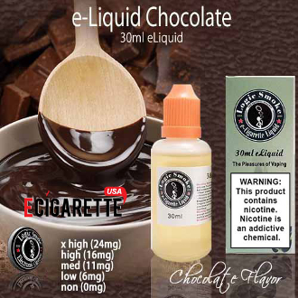eLiquid 30ml Chocolate Flavor