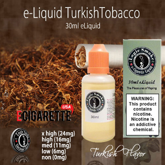 e Juice 30ml Turkish Tobacco Flavor