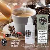 50ml Caramel Coffee Flavor eLiquid