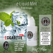 50ml Mint Flavor eLiquid