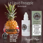 50ml PineApple flavor e cig liquid best e liquid flavor