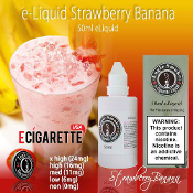 50ml eliquid Strawberry & Banana Flavor Electronic Cigarette Liquid