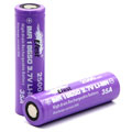 Efest IMR 18650 | 2500mah 3.7V battery | Flat top | Mod Batteries